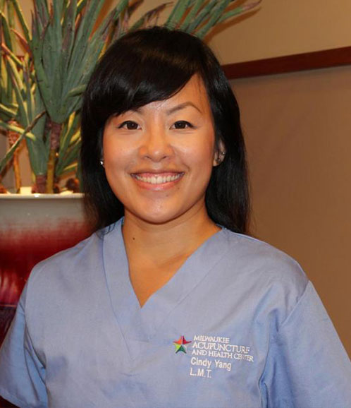 Cindy Yang,  Licensed Massage Therapist